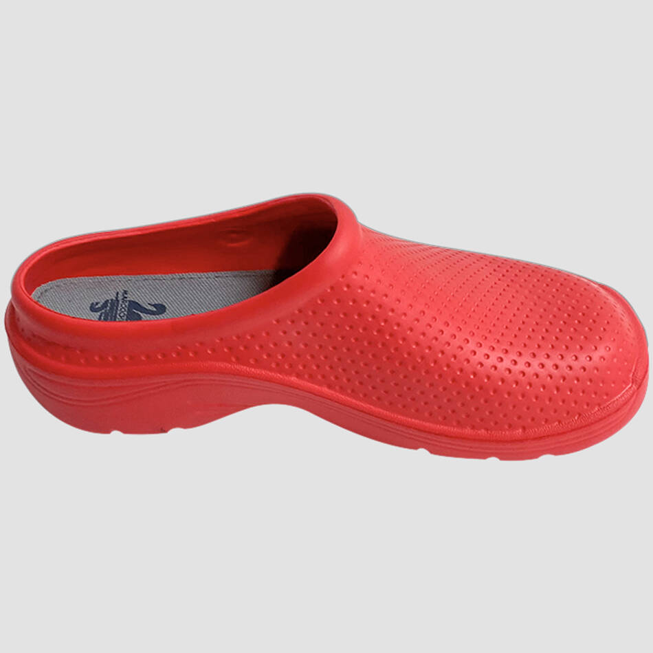 Surgical Clogs: Red0