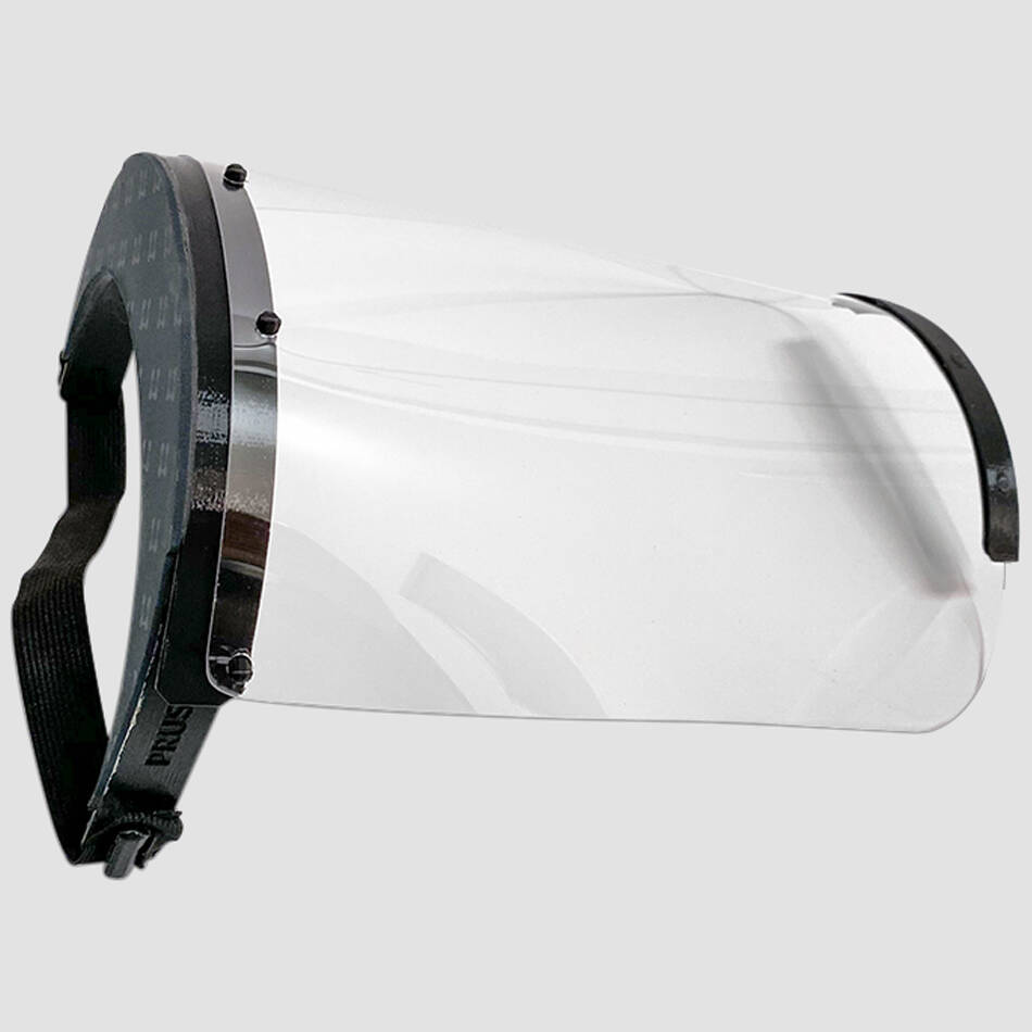 Face Shield: 0.75mm0
